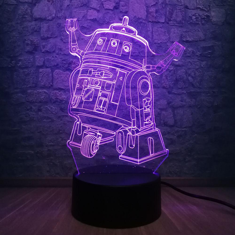 Cool Boy Gift Royale Game Pubg Tps Tools Prop Machine 3d Night Light - cheap mp3 music night light best kids table lamp night light