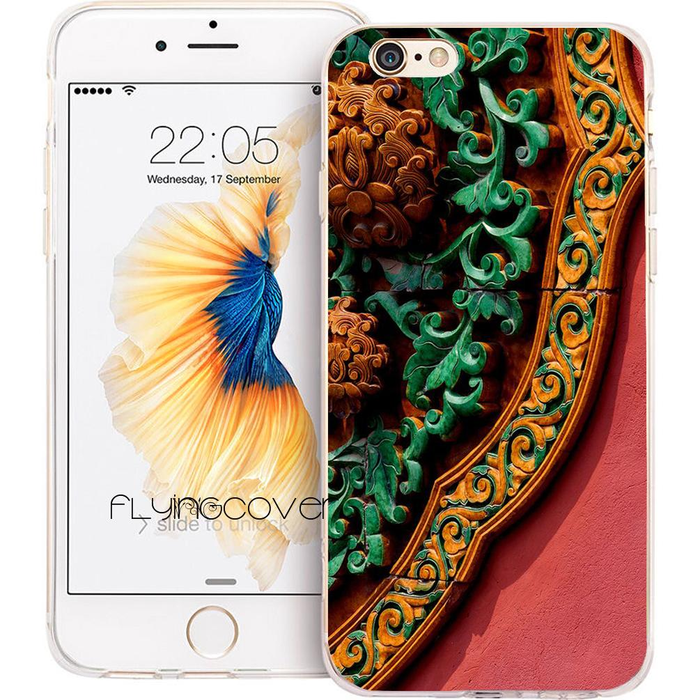 capa chinese style palace phone cases for iphone xs max xr 7 8 pluscapa chinese style palace phone cases for iphone xs max xr 7 8 plus 5s 5 se 6 6s plus 5c 4s ipod touch 6 clear soft tpu silicone cover customize cell