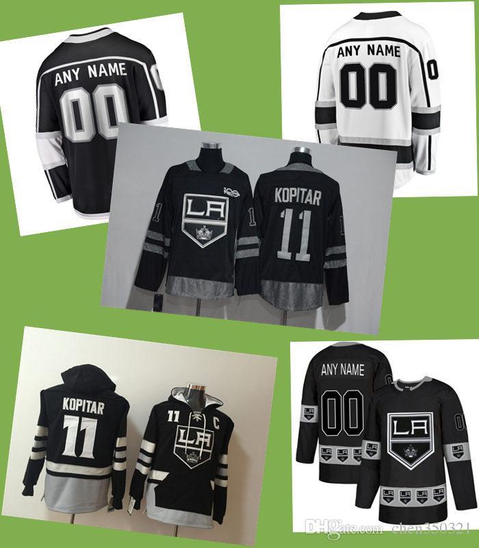 Custom Los Angeles Kings Jersey Jeff Carter Drew Doughty Anze ... 0587a428d