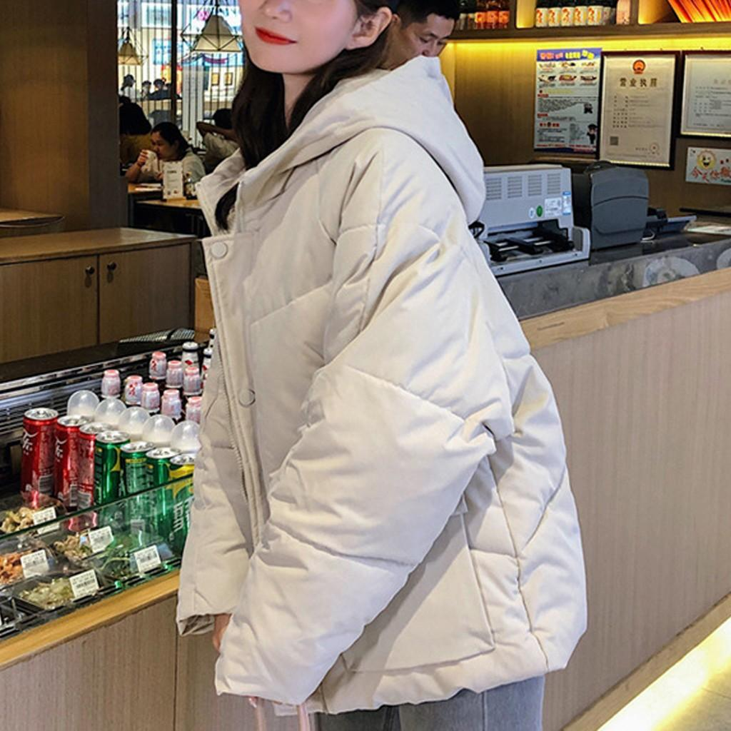 Ladies Korean version of the thick loose student bread jacket casacos de inverno feminino abrigos mujer invierno 2019 W1018