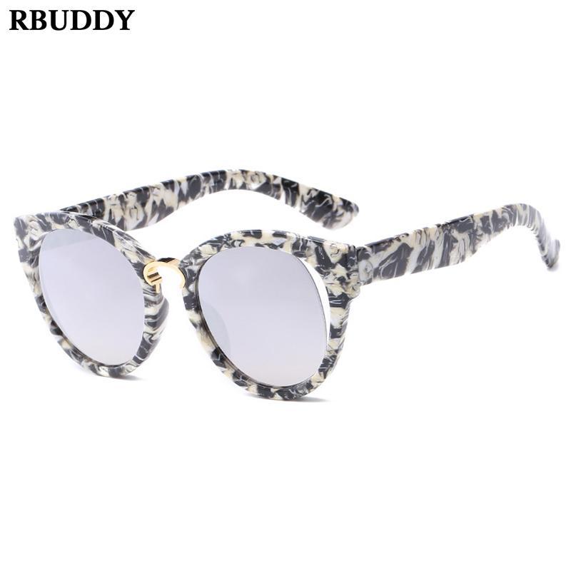bf996458f Compre Vintage 2019 Óculos De Sol Dos Óculos De Sol Dos Homens Da Mulher  Óculos Atuais Modelo Criativo Rua Tiro Protetor Solar Impressão Óculos De  Sol Uv400 ...