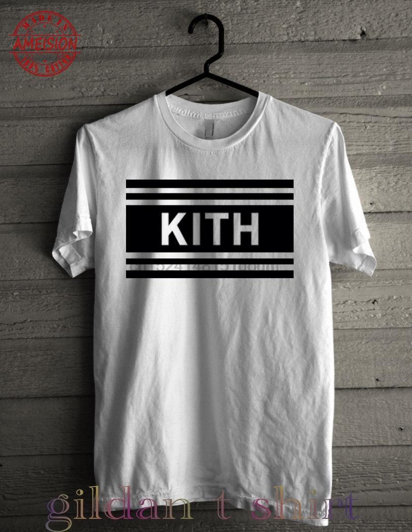 aa47857eedd4e8 KITH NYC BOX LOGO T-SHIRT BOX logo T-shirt New fashion brand tshirt Hot  Selling Men's Clothing Novelty Short Sleeve T shirts