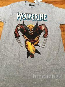 Mens Size Small Wolverine Shirt 75th Franks Logan Marvel T-shirt