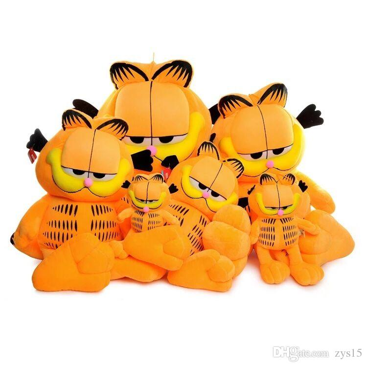 2019 Big Garfield Cat Plush Toys Creative Birthday Gifts For Boys