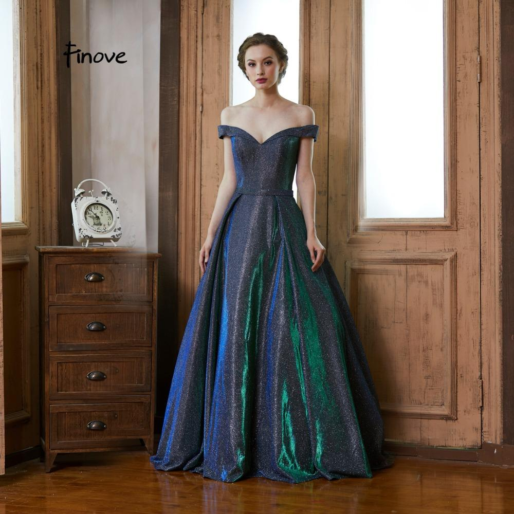 9580477748 Finove Reflective Dress 2019 Evening Dress Long Party Dresses Flashing  Material Off The Shoulder Elegant Halloween Gowns Plus Size Casual Dresses  Gowns From ...