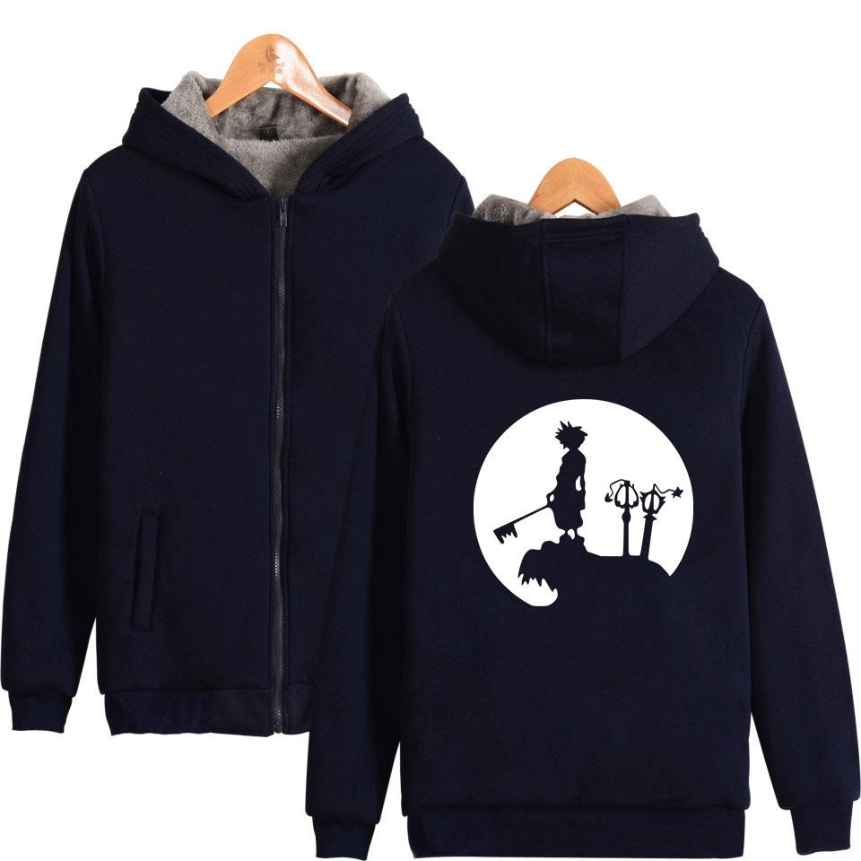 2019 Hot Sale Winter Thicken Zipper Hoodies Men Women Sweatshirt Warm  Kingdom Hearts Thicken Hooded Men Sweatshirt Zipper Hoodies Top From  Houmian 2b9b213a9