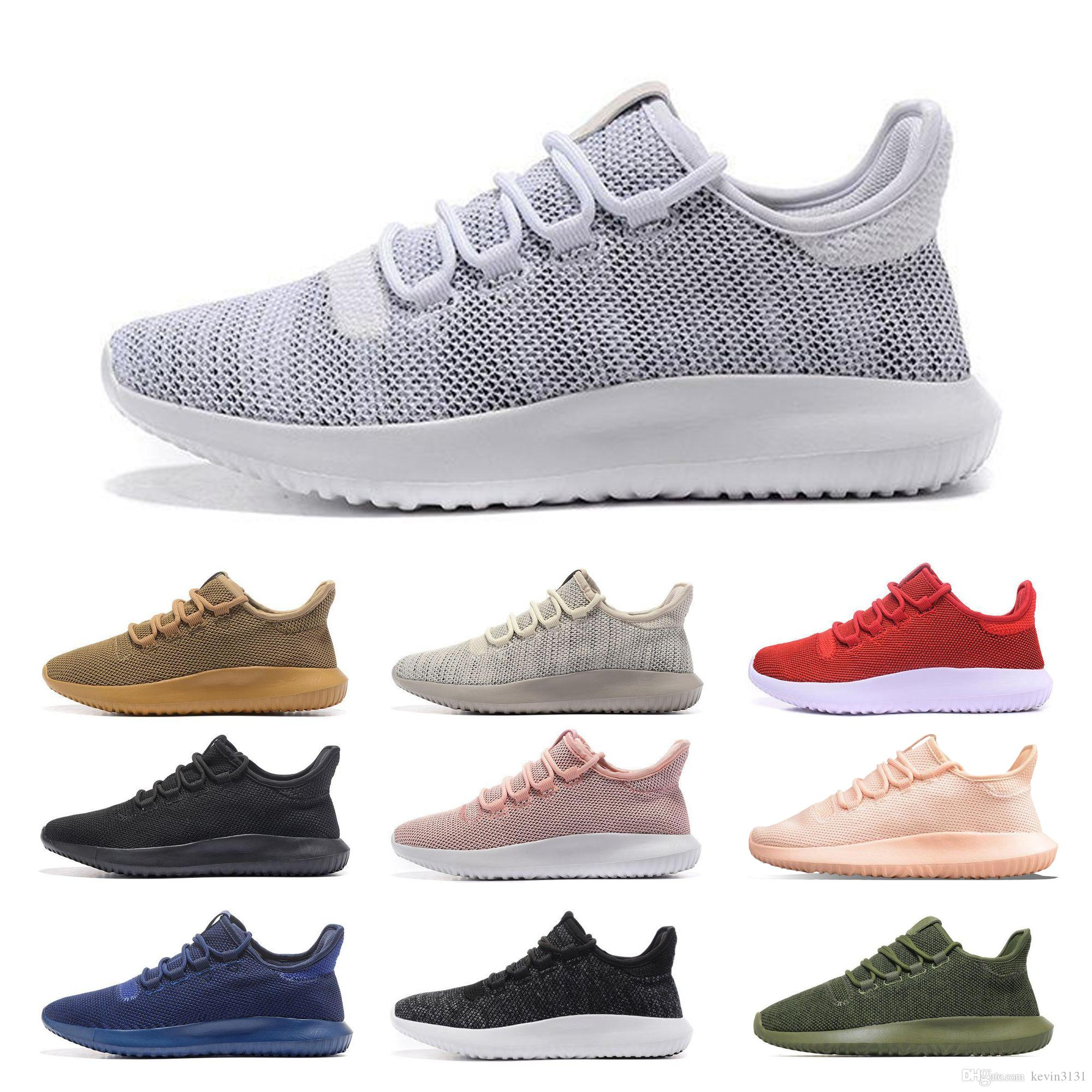 size 40 95398 35aeb Cheap Tubular Shadow Knit Ultra 2019 Mens Running Designer Shoes Women  Casual Outdoor Trainer Sports Best Hiking Jogging Sneakers Size 36-