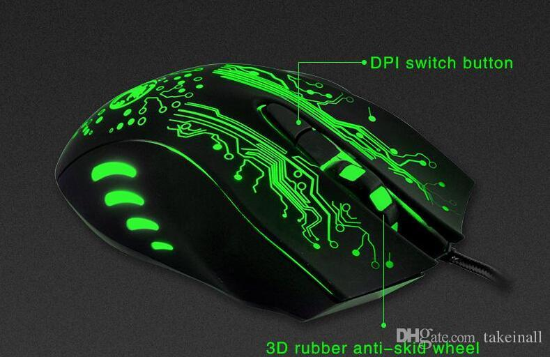 2018 New Original Imice Estone X9 Wired Gaming Mouse Optical