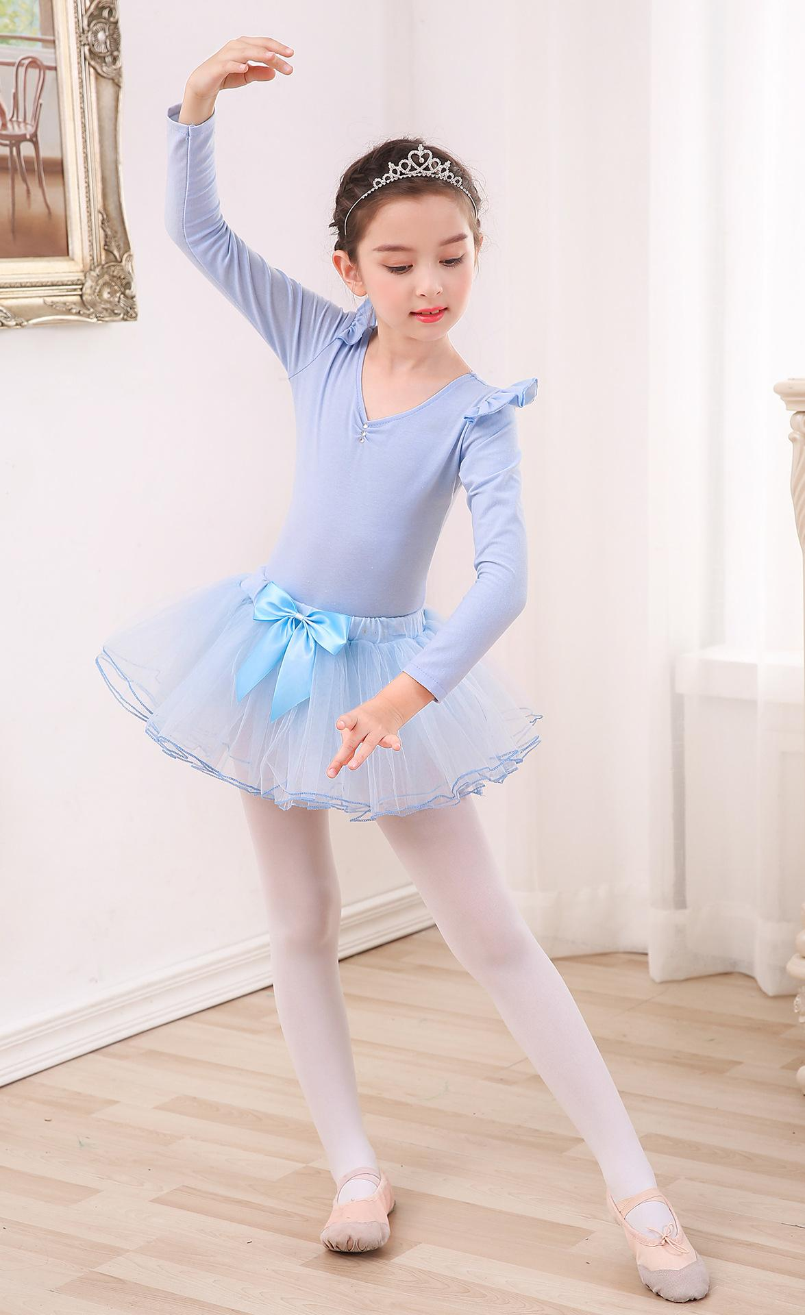 ballet tutu dancewear girl Kid Dance Sequin Shoes Print Pink White Red purple Black Leotard Ballet Tutu Dancewear dance costume party girls