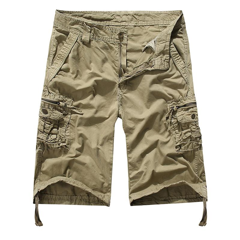 55b3766c92 2019 2019 Brand New Mens Cargo Shorts Army Camouflage Tactical Shorts Men  Cotton Loose Work Casual Short Pants Plus Size From Pileilang, $33.0 |  DHgate.Com