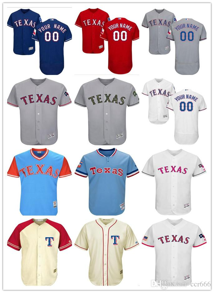 9f4385da3 ... hot custom mens women youth texas rangers jersey 00 any your name and  your number home