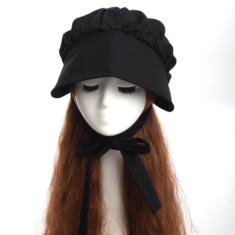 Pioneer Victorian Sun Hat Vintage Lady Women Bonnet With Wide Brim Medieval  Hat C19011401 Funny Hats Hat World From Tong06 c0b39826035