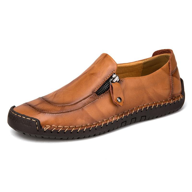 2087966207 Mocassini Scarpe da uomo Mocassini maschili Appartamenti in vera pelle  Comode scarpe da passeggio per barche casuali Gommino Driving Shoes