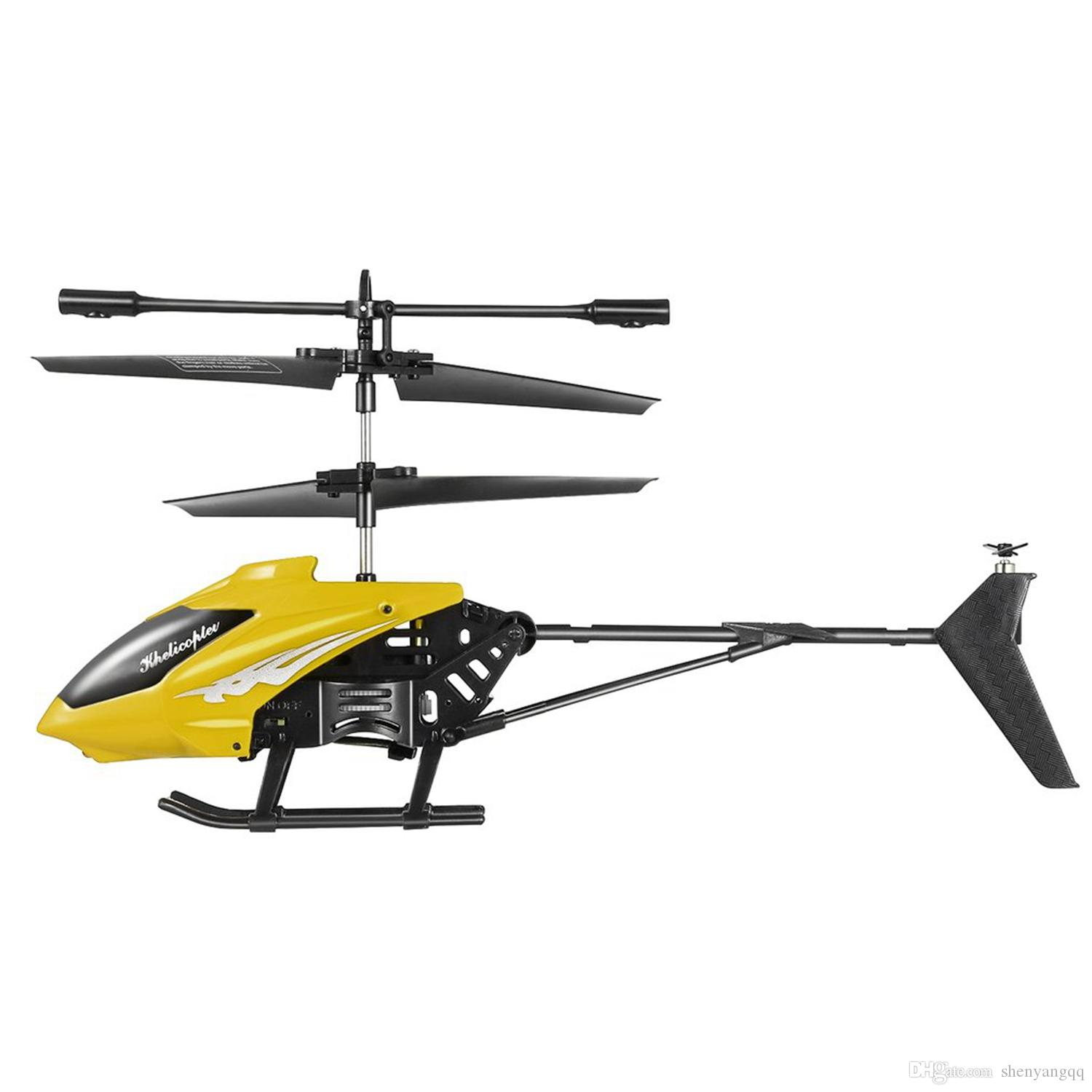 Mini Rc Helicopter Electric Flying Toys 2Ch 2 Channel Toys Remote Control Quadcopter Drone Radio Gyro Aircraft Kids Toys TYY6754
