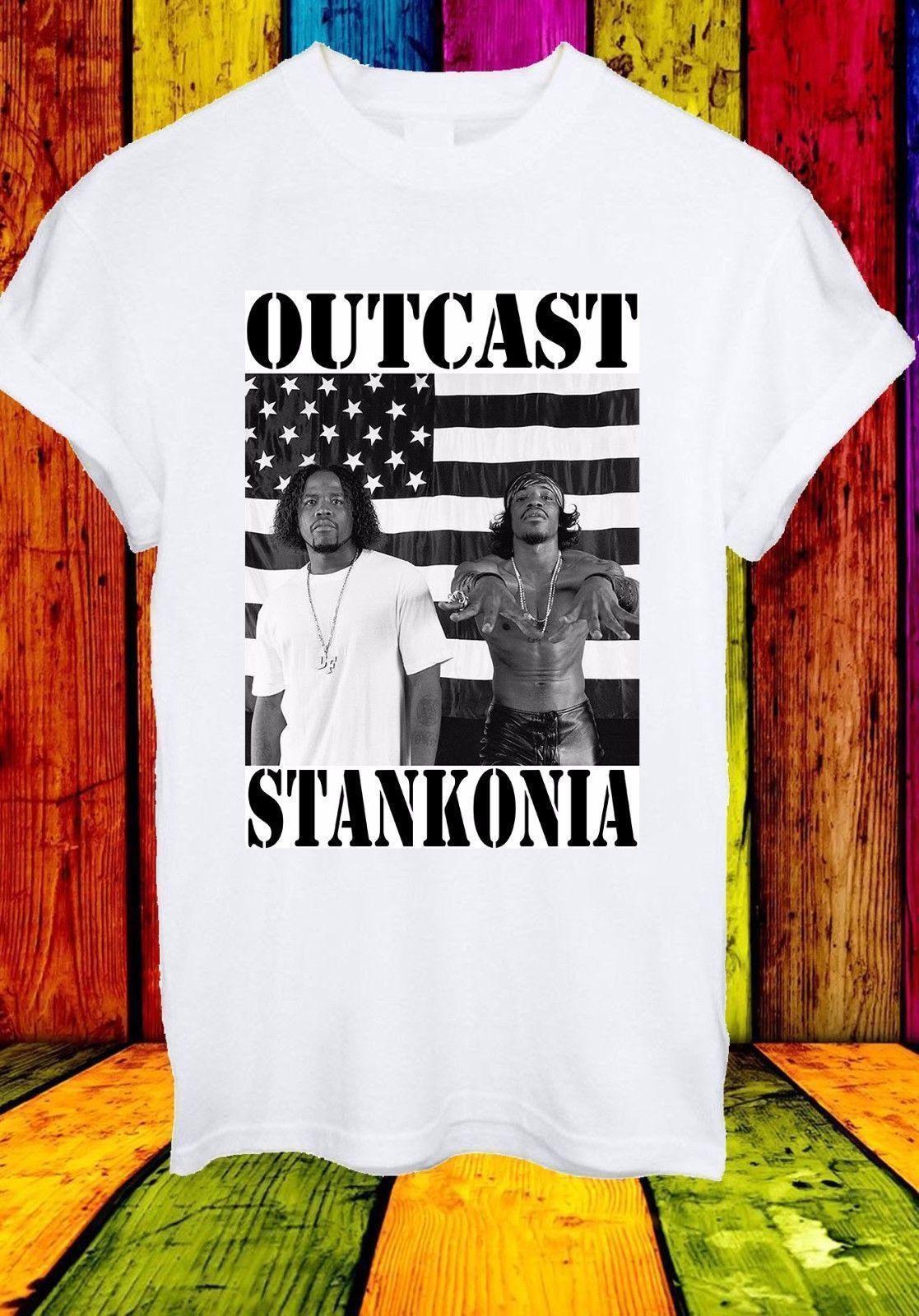 Outkast Stankonia Album Cover American Hip Hop T Shirt Womens Shirt T Shart  From Artmuz88 45c39d50c1