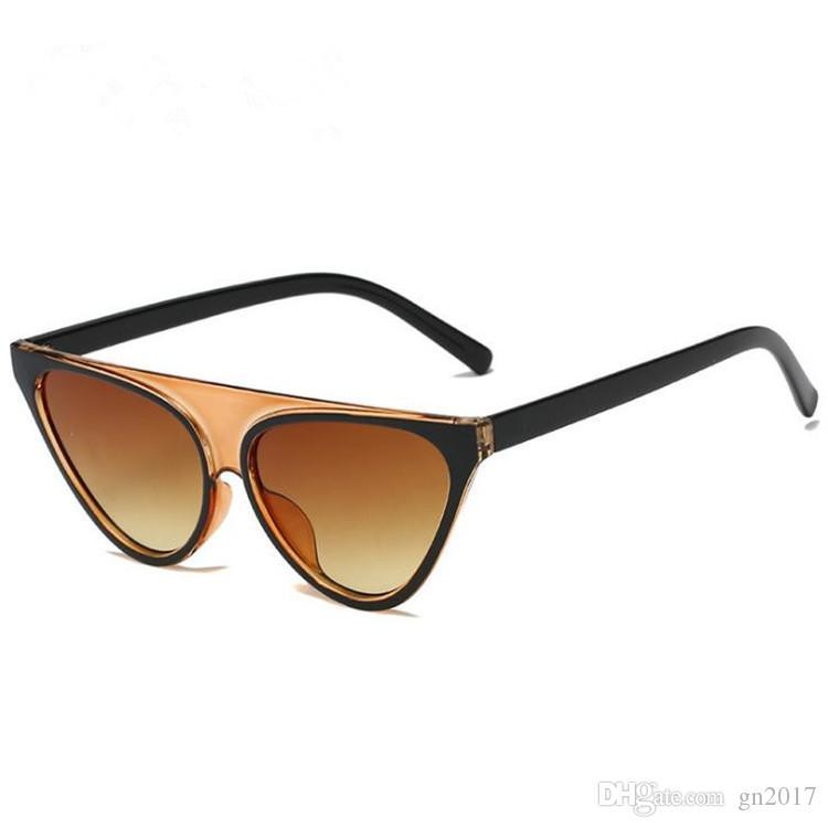 3ab5cdd81338c Fashion Personality Women   Men Sunglasses Sexy Cut Cat Sun Glasses ...