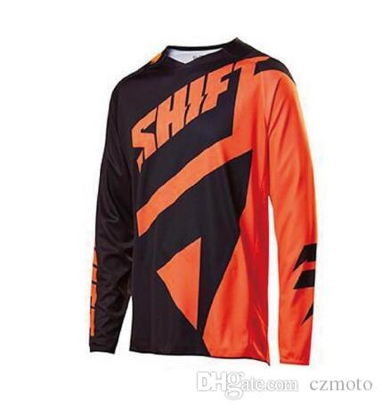 2019 DH LS BMX Downhill cycling Jersey ropa ciclismo ENDURO TEAM pro rbx MTB Moto GP Mountainbike Motocross Accept custom