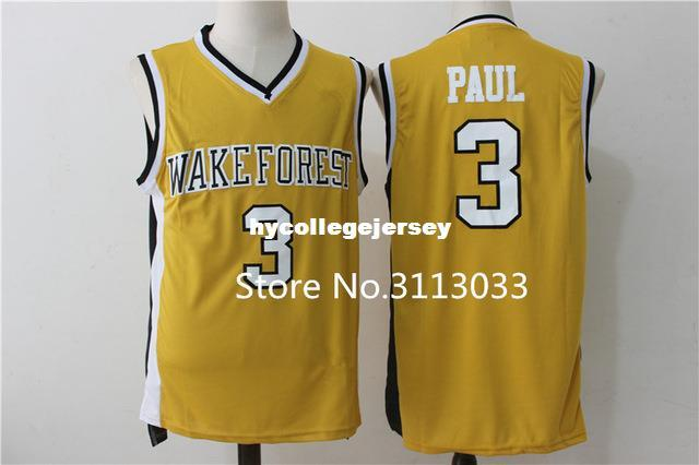 e001476bd 2019 Vintage Chris Paul Wake Forest Demon Deacons College Basketball Jersey  All Size Embroidery Stitched XS 6XL Vest Jerseys Ncaa From Hycollegejersey