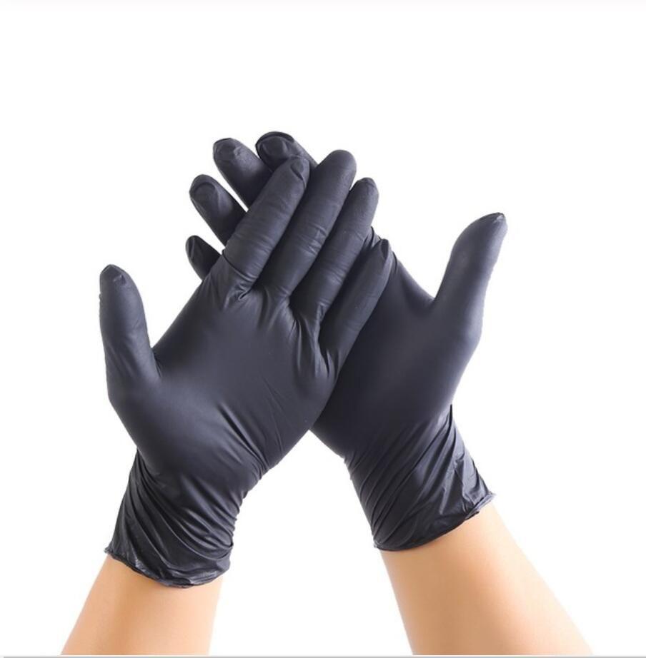 100 Guantes desechables de látex PCS Guantes de PVC Guantes para lavar platos de cocina goma de látex Jardín XL / L / M / S universal Para Limpieza del hogar