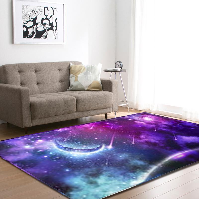 Série étoilée moderne tapis salon cuisine hall d entrée tapis tapis lune  étoiles tapis chambre d enfant tapis tapis de jeu tapis Tapetes