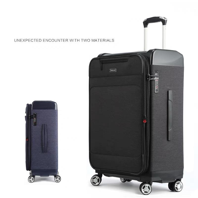 12c14fec774 Hot!2019 New Oxford PP Spinner Suitcase Rolling Luggage Bag Men Travel  Trolley Luggage Bag On Wheels Travel Suitcase Trolley Box Spotty Suitcase  Kids ...