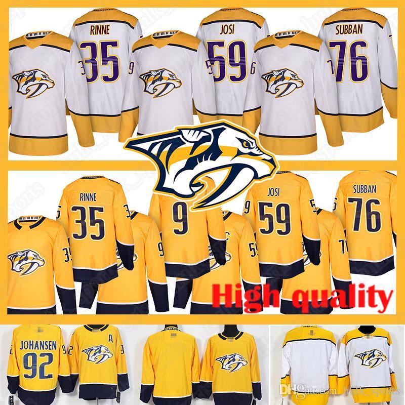 official photos 0136f 9440c Nashville Predators jerseys 76 P.K. Subban jersey 59 Roman Josi9 35 Pekka  Rinne Filip Forsberg jerseys