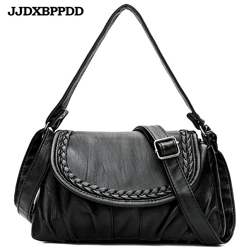 JJDXBPPDD Black Small Shoulder Bag For Women Messenger Bags Ladies Retro PU  Leather Handbag Purse Female Crossbody Bag Satchel Bags Man Bags From  Taylorst 60674d05ddb4c