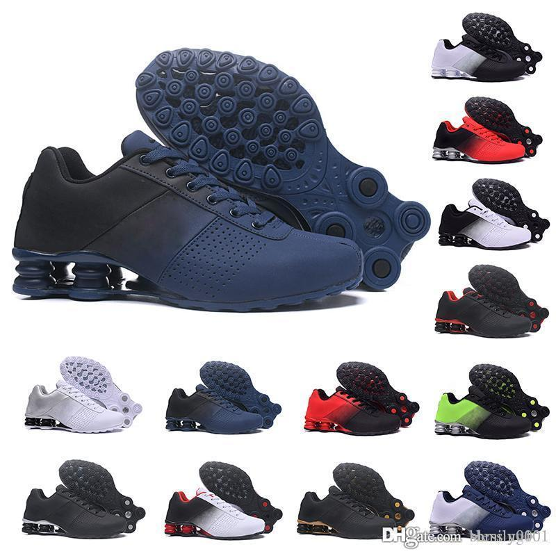 nike Tn plus shox  Designer 2019 Shox Deliver 809 Homens Air Sneakers Top Original Chaussures Famosos DELIVER OZ NZ Mens Athletic Trainers Sapatos de Luxo Esportes