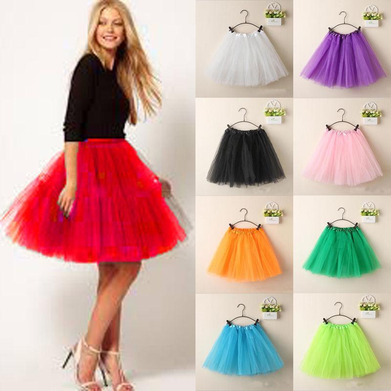 75d381aa92 Compre Moda Bonita Para Mujer Princesa Falda Ballet Tul Tutu Falda De La  Boda De Baile Rockabilly Mini Faldas Faldas Mujer A  39.13 Del Candycloth