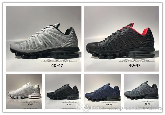 a0b6695ce35 2019 New Shox Men Avenue Running Shoes Cheap Wholesale Chaussures ...