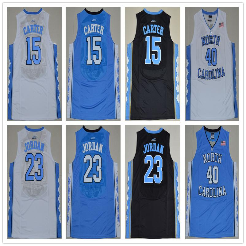 new styles 7552a 308ac Mens Vince Carter Basketball Jersey North Carolina Tar Heels Harrison  Barnes High Quality Stitched College Basketball Jerseys