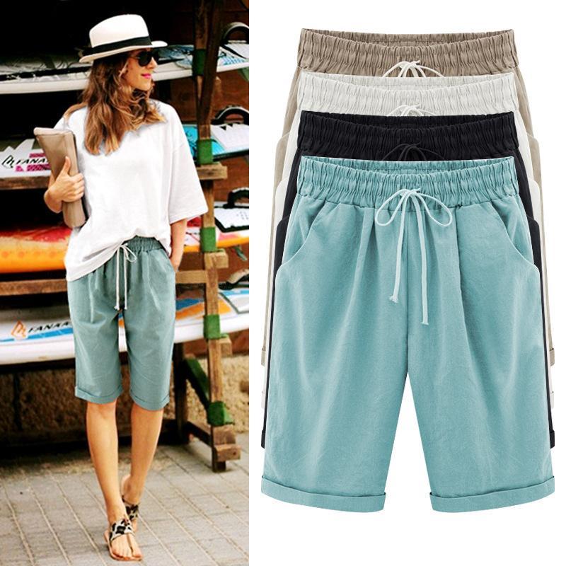 Acheter Short En Lin En Coton Pour Femme b7f4e7354f8