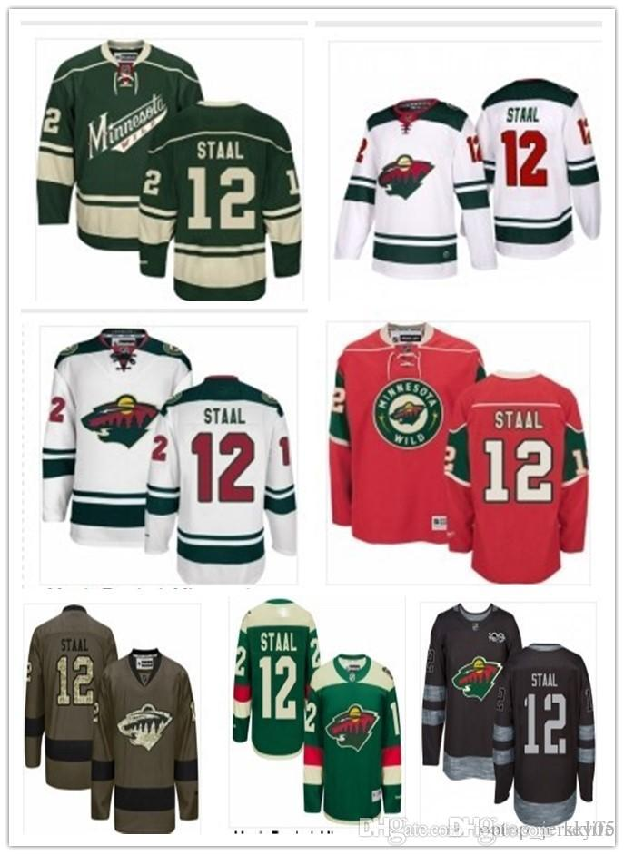 reputable site 248d5 2d432 eric staal wild jersey