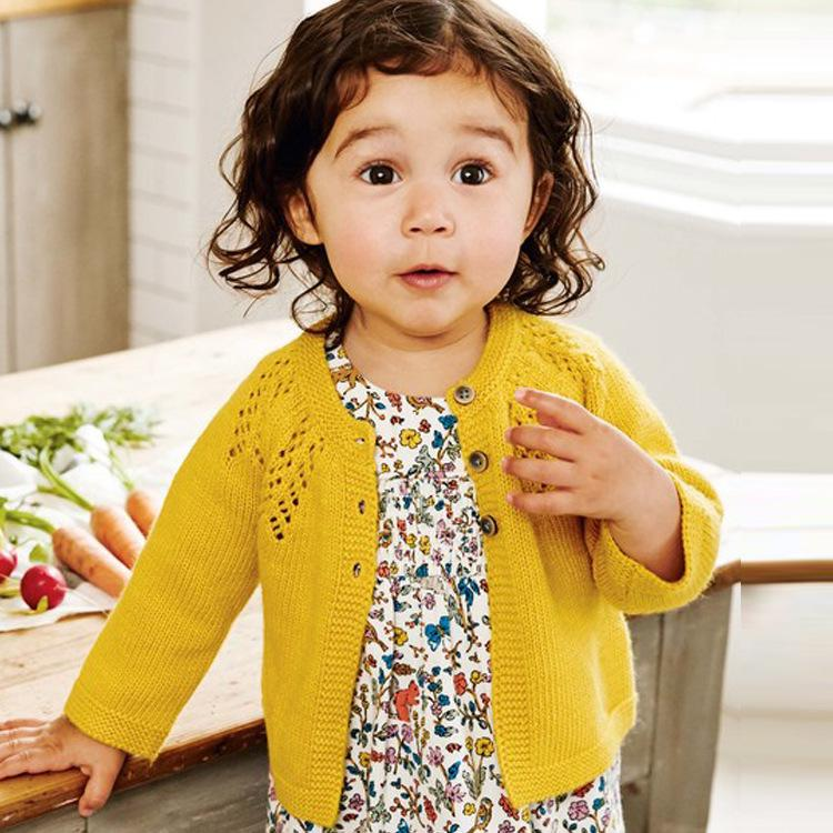 826bdfbbe Brand Toddler Girl Clothes Baby Sweaters 2019 Spring New Kids ...