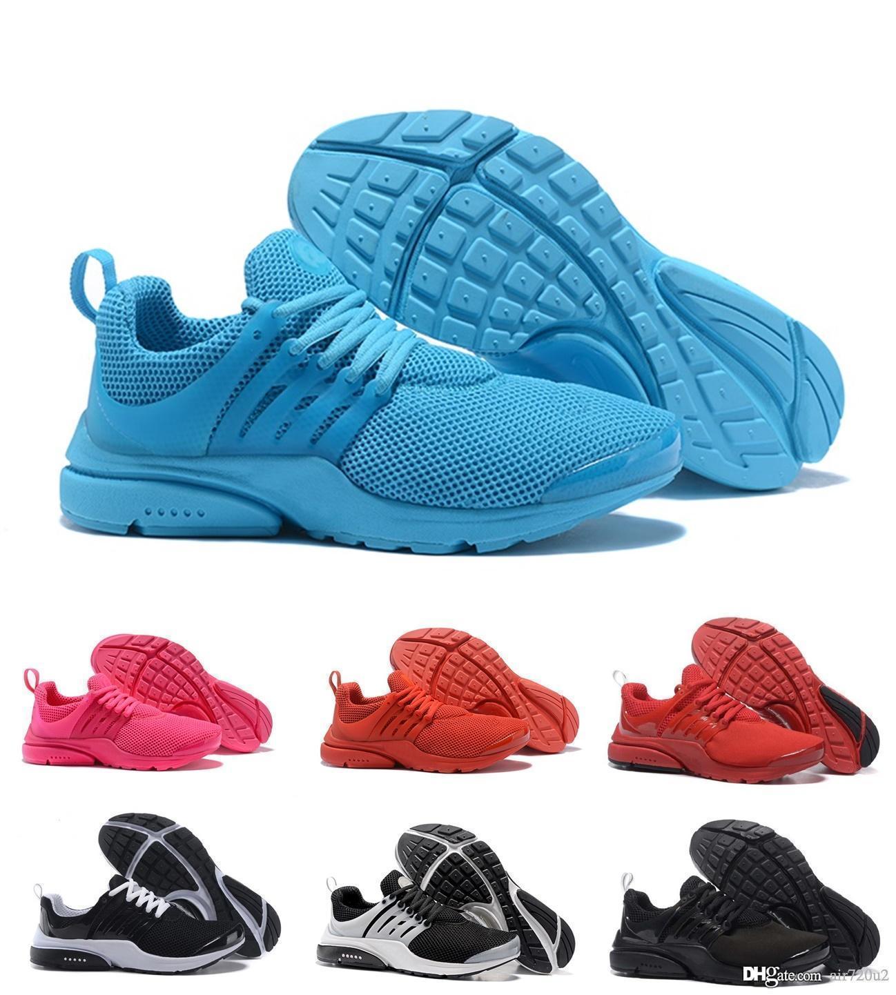 brand new ec984 b8da5 React Presto 2019 men women shoes triple black Rabid Panda Breezy Thursday  Brutal Honey mens trainer breathable shoes