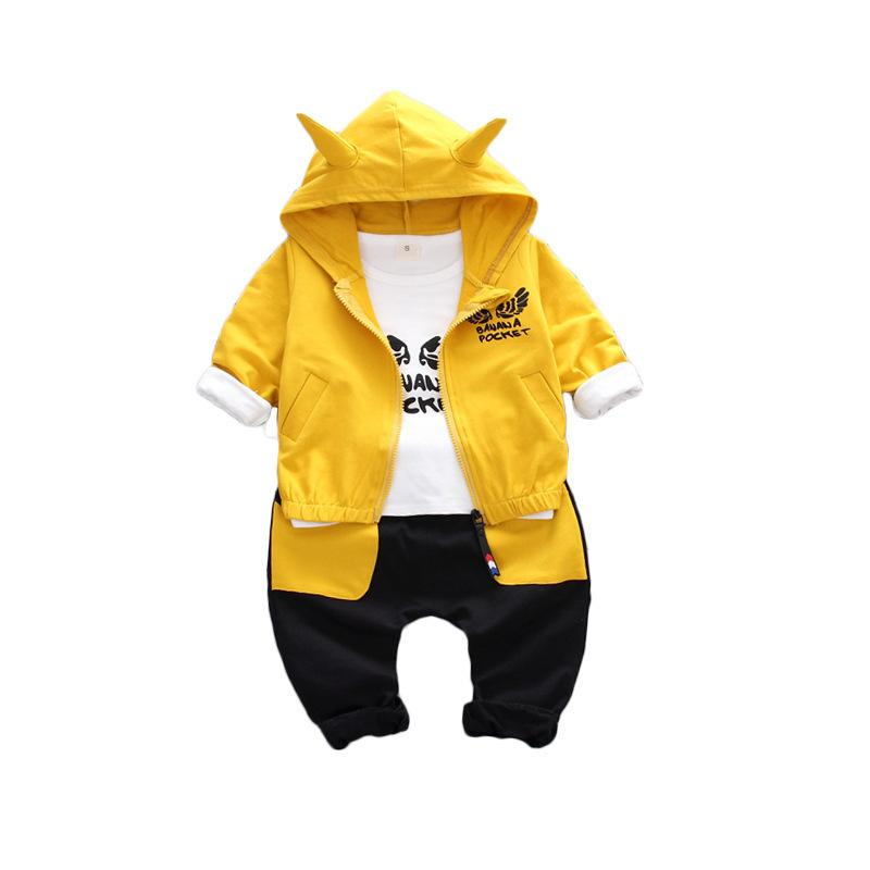 198d6daa9ead03 2019 2019 New Children Girl Boys Clothing Sets Autumn Winter Suit Hooded  Cartoon Flying Coat Clothes Baby Cotton Kids Tracksuits From Textgoods05,  ...