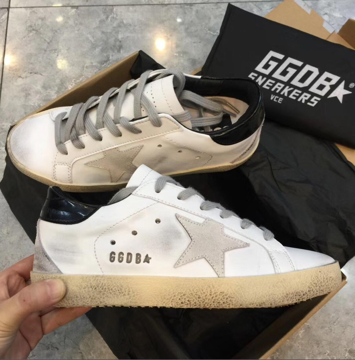 on sale 3b18d 65447 sale sneakers geox cjqo66 w style sneakers Genuine Leather Villous Dermis  Casual Shoes Mens And Women Luxury Superstar trainer 30