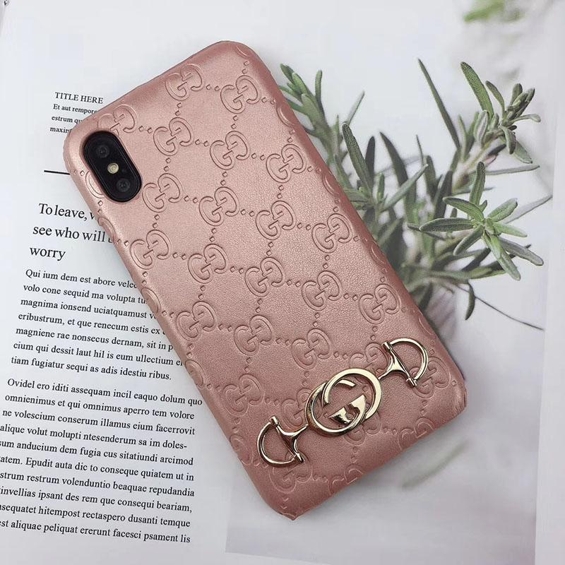 luxury designer phone cases imprint GG for iphone 6 7 8 plus X XR PU leather Fashion Models Phone Back for samsung galaxy S8 9 10 NOTE 8 9