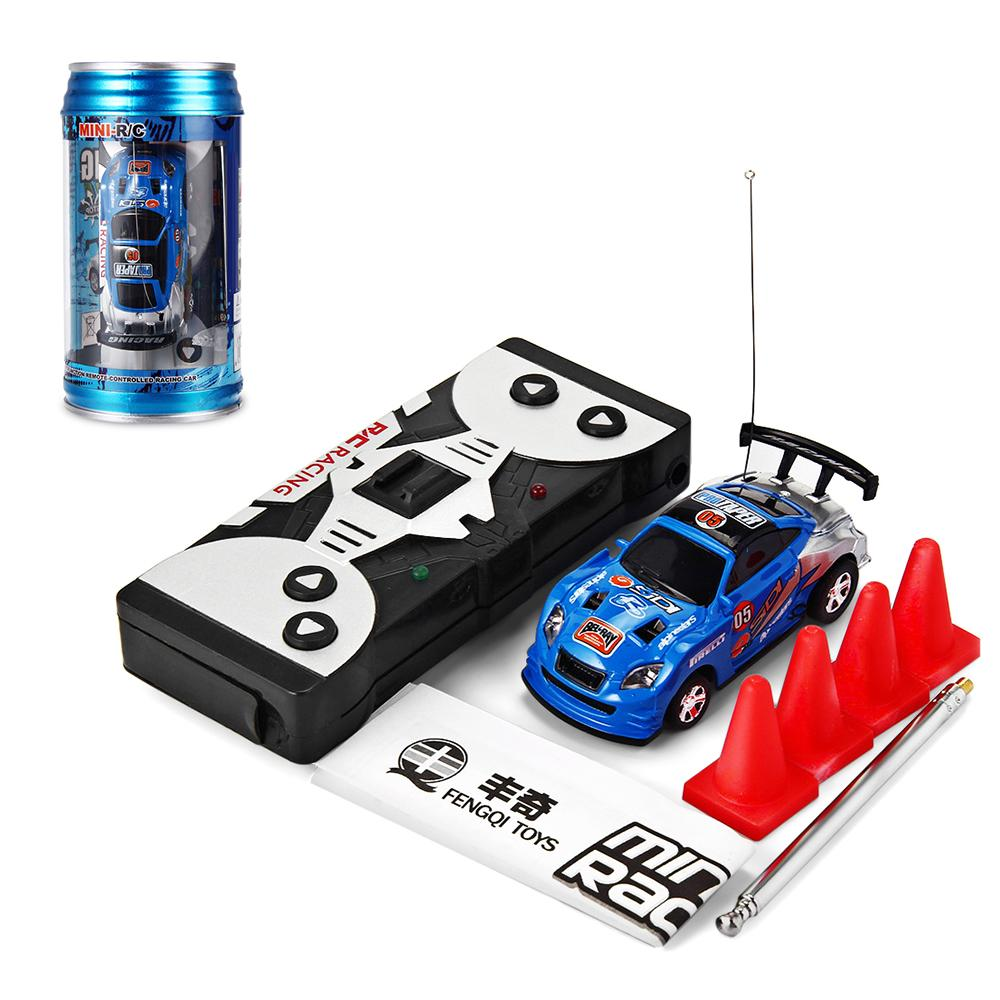Original 8 Colors 1 :63 Coke Can Mini Speed Radio Remote Control Micro Car Road Blocks Rc Toys Kid 'S Toys Christmas Gifts