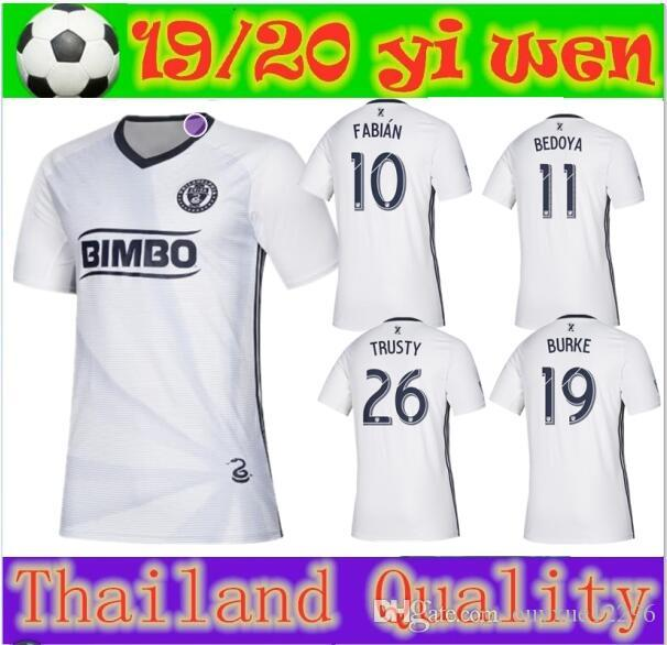 new product a0a10 82766 2019 Parley Philadelphia soccer jersey UNION 19 20 limited edition FABIAN  10 BEDOYA 11 TRUSTY BURKE PICAULT football uniforms shirts