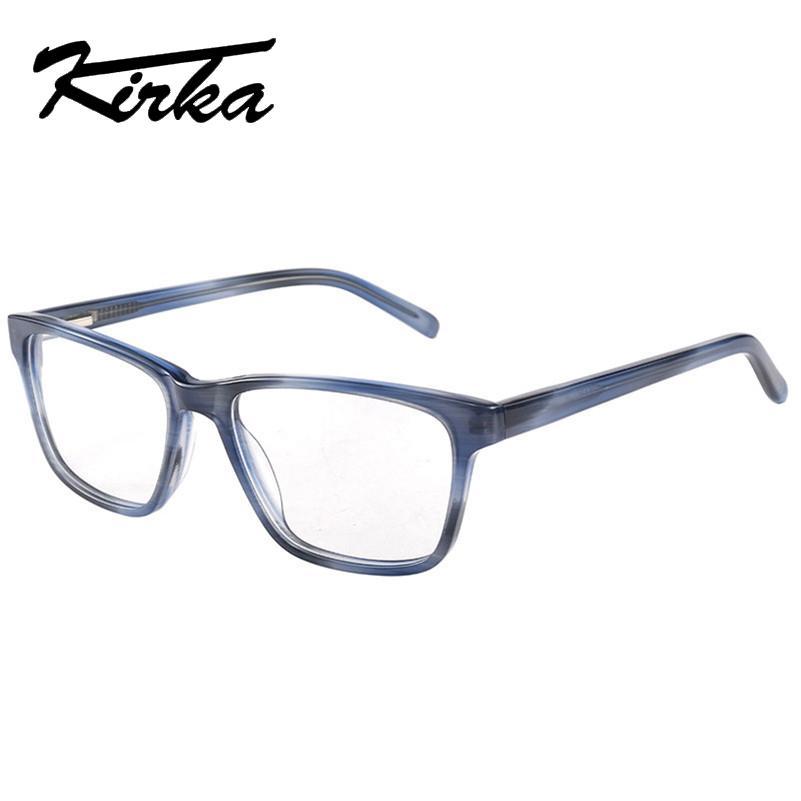 7c9080b93c Compre Kirka Hombres Moda Gafas De Miopía Borde Completo Gafas ...