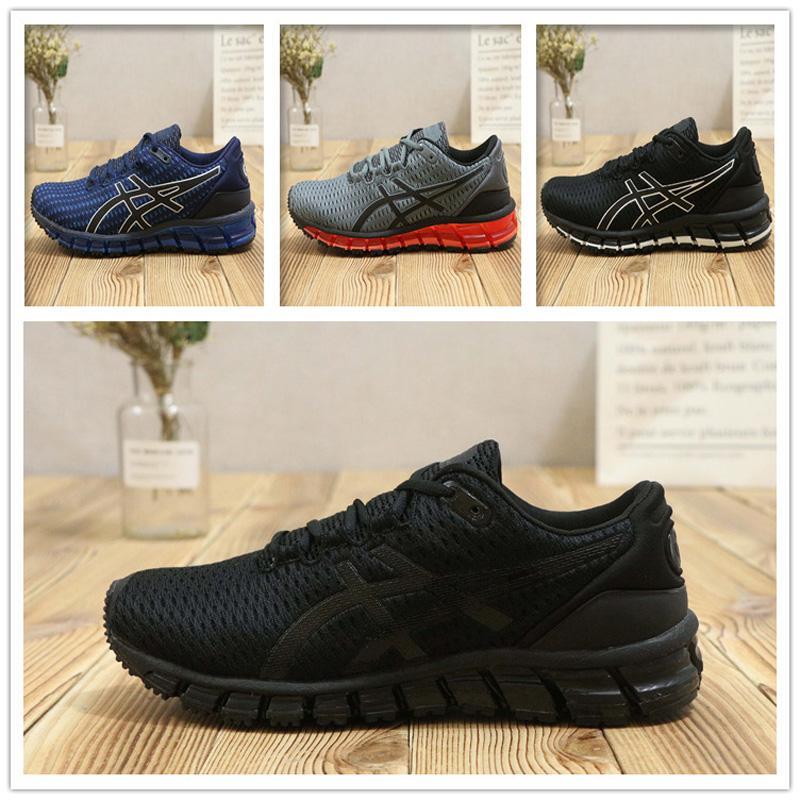 ASIC Gel Quantum 360 SHIFT Chaussures de course pour la stabilité T728N noir blanc athlétique en plein air Sports Chaussures de jogging, entraîneur