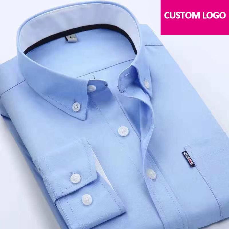 455dd53cb82e Изготовленный на заказ логотип напечатал равномерную рубашку рубашки дела  ...