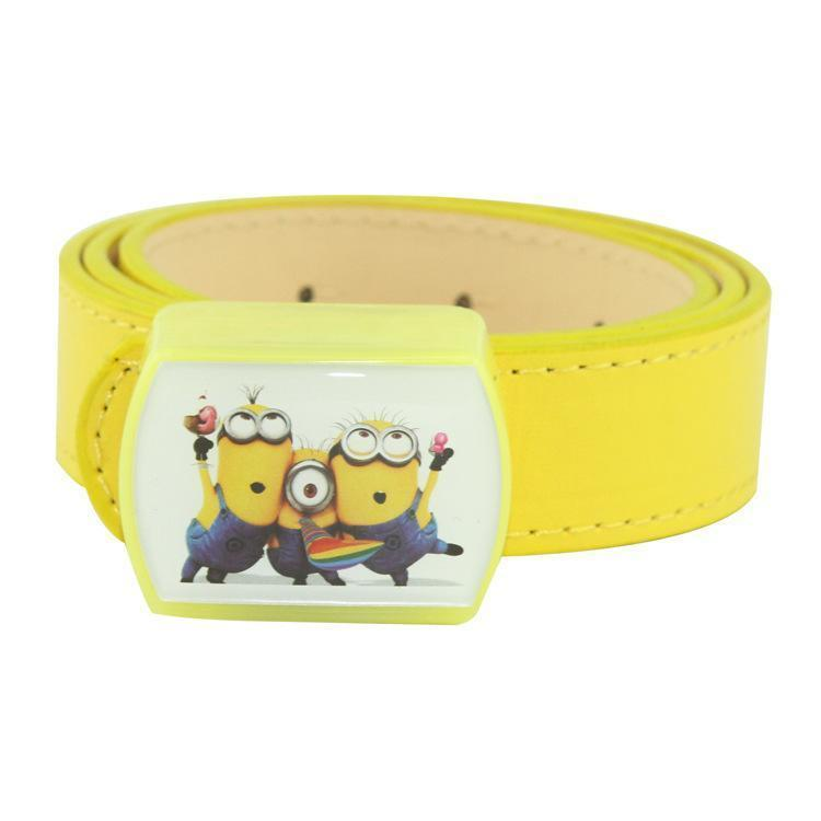 92ac1f114 New Lovely Small Yellowman Pattern Children Belt At Night Flash Of ...