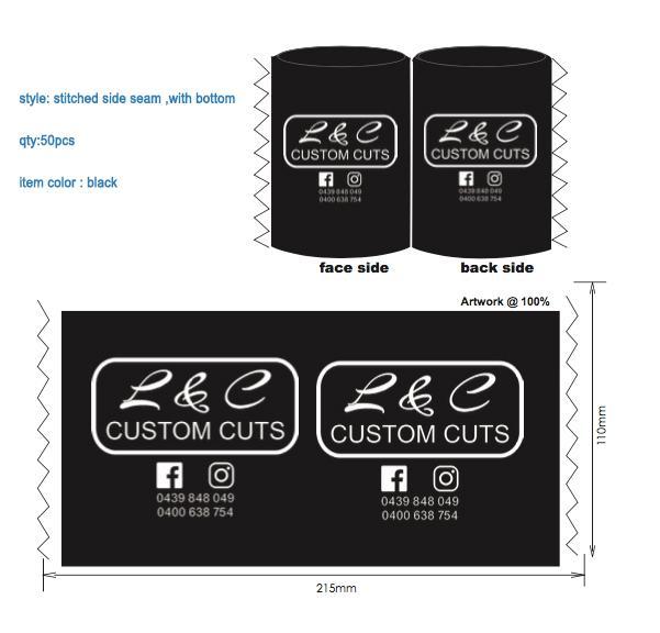 50pcs+100pcs Smaller Inner Diameter Size For 330ml Slim Beer Bottle Custom  Neoprene Stubby Holder Beer Can Coolers Bag