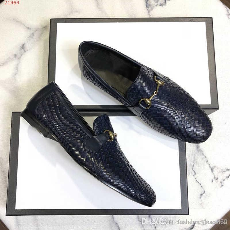 8eb5d7a0d1 fashion men shoes nobleness elegance Classic patent leather men dress shoes  Wine red black and dark blue size 38-44