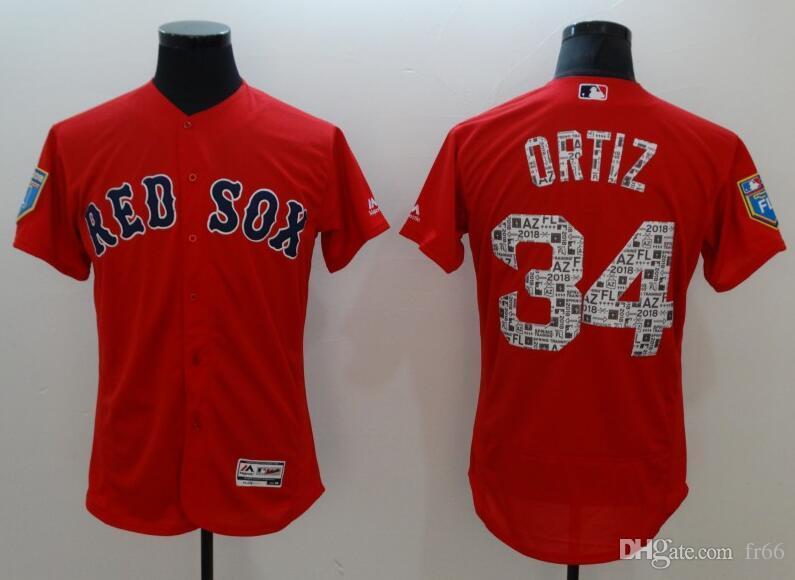 2019 Custom Boston Red Sox Sports Champion Mlb Cheap Baseball ... 5c3f7c9fc99