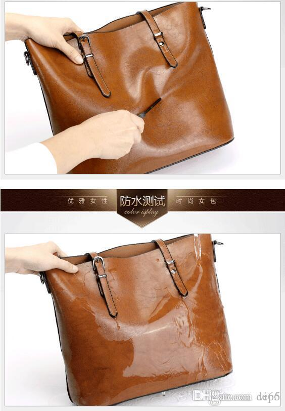 Women Messenger Handbag Leather Casual Tassel Handbags Female Designer Vintage Big Size Tote Shoulder High Quality bolsos Fresh Socialite