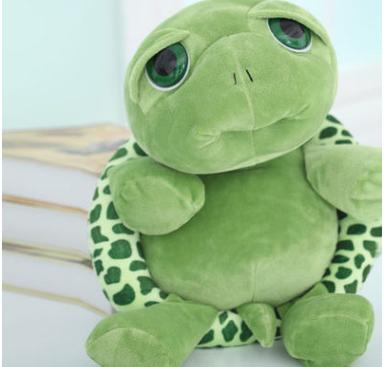 20cm Stuffed Turtle Soft Plush Animal Cute Big Eyes Turtle Plush Toy Dolls Creative Birthday Christmas Gift for Kids Adults