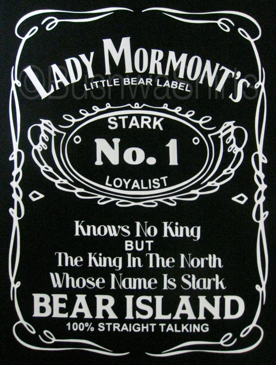 00e30b1d Lady Mormont Game Of Thrones Bear Island Inspired T Shirt Mens Women's Tee  Top Funny free shipping Unisex Casual